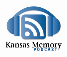 Fig. 1. Kansas Memory Podcast logo. 